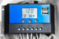 Solar Charge Controller Royalty Free Stock Photo