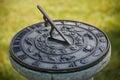 Solar clock, close up Royalty Free Stock Photo