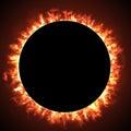 image photo : Solar eclipse
