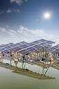 Solar energy in china ,jiangsu Royalty Free Stock Photos