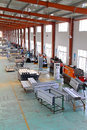 Solar energy equipment production line in a factory north china Stock Photography