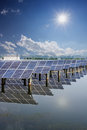 Solar energy in jiangsu of china Stock Images