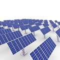 Solar energy panels. Stock Photography