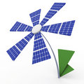 Solar energy panels. Stock Photo