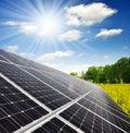 Sluneční energie panely