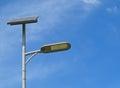 Solar Energy Street lamp Royalty Free Stock Photo