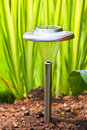 Solar Garden Light Royalty Free Stock Photos