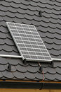 Solar home Royalty Free Stock Photo