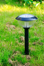 Solar lamp Royalty Free Stock Photo