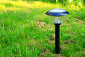 Solar lamp Royalty Free Stock Photography