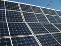 Solar Panel Array Royalty Free Stock Photography