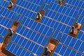 Solar Panel Array Royalty Free Stock Photos
