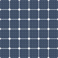 Solar panel as a background illustration of panels in vector format Stock Photography