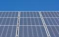 Solar panel blue sky Royalty Free Stock Photo