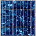 Solar panel close up Stock Photography
