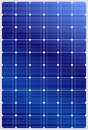 Solar panel detailed vector illustration of blue silicon photovoltaic electric texture Royalty Free Stock Photos