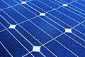 Solar panel. Photovoltaic, renewable savings Royalty Free Stock Image