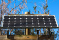 Solar panel stand-alone Stock Photos