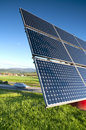 Solar Panel Station Stock Photos