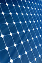 Solar Panel with sunshine Royalty Free Stock Photo
