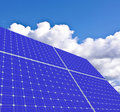 Solar panels Stock Photo