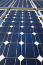 The Solar Panels Royalty Free Stock Photo