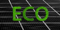 Solar panels background Royalty Free Stock Photo