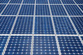 Solar panels cells Royalty Free Stock Photo