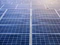 Solar Panels Energy saving Ecology Industry concept Royalty Free Stock Photo