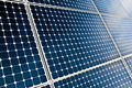 Solar panels modules Royalty Free Stock Images