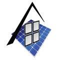 Solar panels  part tree Royalty Free Stock Photo