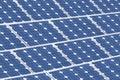 Solar panels, renewable green energy Royalty Free Stock Photo