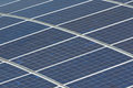 Solar panels and renewable energy Stock Photography