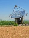 Solar panels, vertical Royalty Free Stock Photo