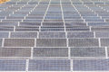 Solar power plant under construction in thailand Royalty Free Stock Images