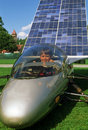 Solar powered car Royalty Free Stock Photography