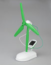 Solar powered toy propeller photos taken march Royalty Free Stock Photography
