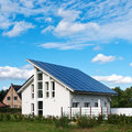 Solar roof Stock Images