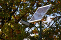 Solar street lamp Royalty Free Stock Photo