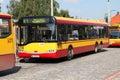 Solaris bus in Warsaw Royalty Free Stock Image