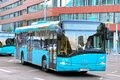 Solaris urbino frankfurt am main germany september city bus at the city street Royalty Free Stock Image
