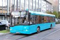 Solaris urbino frankfurt am main germany september city bus at the city street Royalty Free Stock Photography