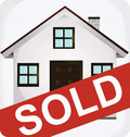 Sold icon Royalty Free Stock Photo