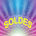 Soldes abstract background Royalty Free Stock Photo