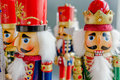 Soldier nutcracker statue Royalty Free Stock Photo