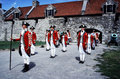 Soldiers at Fort Ticonderoga Royalty Free Stock Photo