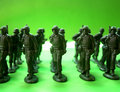Soldiers  order  1 Royalty Free Stock Photos