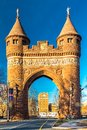 Soldiers and Sailors Memorial Arch in Hartford Royalty Free Stock Photo