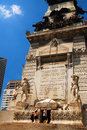 Soldiers and Sailors Monument Royalty Free Stock Photo