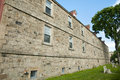 Soldiers& x27; Barracks in Historic Garrison District - Fredericton - Canada Royalty Free Stock Photo